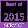 2015年度最佳服務徽章