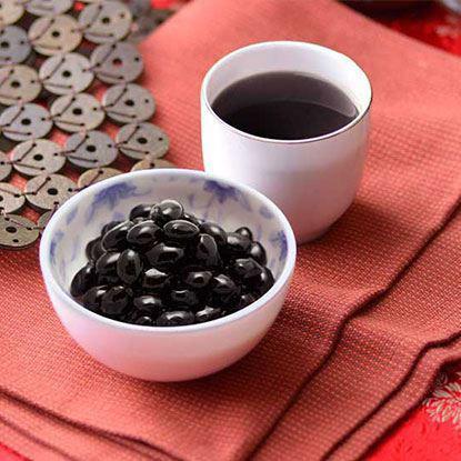 养生黑豆水